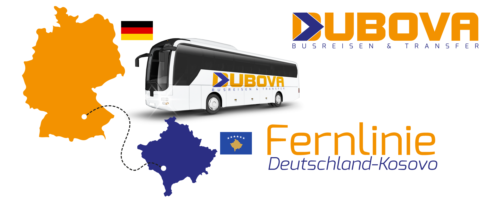 Fernlinie - Deutschland - Kosovo